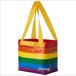 🌈NEW🌈IKEA Storstomma Raimbow Pride Mini Tote Bag